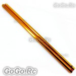 2 Pcs Tail Boom For T-Rex Trex 500 Helicopter - Gold (LM50040-GDx2)