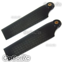 3K Carbon Fiber Tail Blade For T-REX Trex 500 Helicopter (RH50087-01)