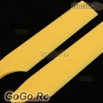 Yellow Tail Rotor Blade For T-rex 500 Helicopter (RH50035-05)