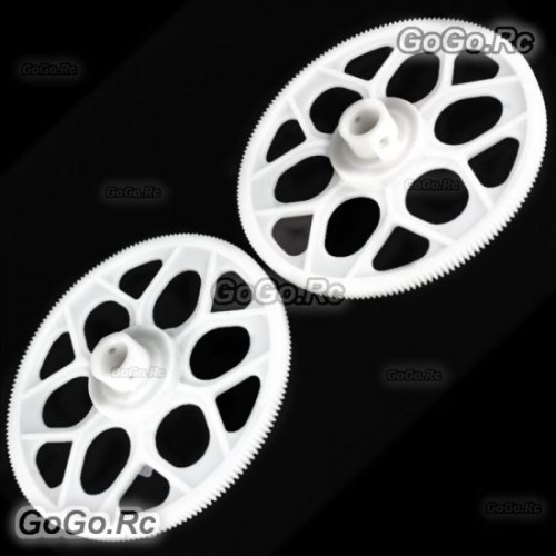 2 Pcs Autorotation Tail Drive Gear For T-Rex 550 600 Helicopter (GT550-064)