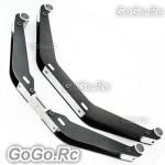Tarot New type Carbon Fiber Landing Skid Silver For Trex 550 600 (RH60126-02)