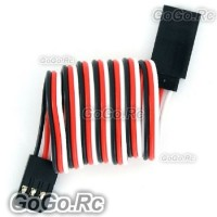 5x 300mm Servo Extension Lead Wire Cable For Futaba JR RC Car Plane (F036-300)