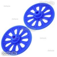 Tail Drive Gear x 2 for Align Trex T-rex 450 SE V2 PRO Sport Blue RHS1220-02BUx2