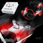 JJRC 1000A 2.4G 6-Axis 4CH 360 Deg Gyro RC Mini Quadcopter BNF w/ Box Set Red
