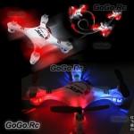 JJRC 1000A 2.4G 6 Axis 4CH 360 Degree Gyro RC Mini Quadcopter BNF Red