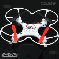 JJRC 1000A 2.4G 6 Axis 4CH 360 Degree Gyro RC Quadcopter BNF w/ Prop Guard Red