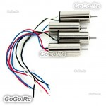 4pcs Motor Set for Hubsan X4 H107D H107C H107-A23 Quadcopter 8mm fit rotor blade