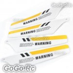 4Pcs RC Main Blade S107-02 For Syma 107 S107G 3CH RC Helicopter Parts S107G-02YY