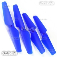 4 Pcs CW CCW Blue Syma X5C X5 Rc Quadcopter Main Blades Propellers Spare Parts