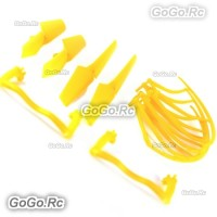 Syma X5c x5c-1 Quadcopter Propellers Landing Skid Protectors Spare Parts Yellow