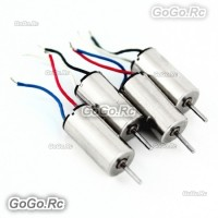 4 Pcs CW CCW Main Motor For CX-10 CX-11 H111 V272 JXD395 RC Quadcopter