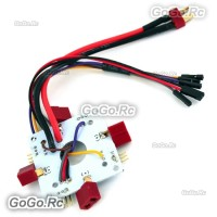 APM PX4 4 axis Quadcopter T-Plug Power Transfer Plate (Power Distribution Board) MC022-4T