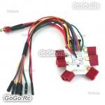 APM 6 axis Multirotor T-Plug Power Transfer Plate / ESC Power Distribution Board MC022-6T