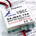 HOBBYWING UBEC-8A 15A Step-Down Voltage Regulator (HW8ABEC)