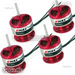 4 Pcs EMAX CF2822 1200KV Outrunner Brushless Motor For Rc Airplane (CF2822x4)