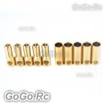 5mm Gold Bullet Connector for Battery Motor Esc x 5 Pairs For Rc (MH1158-59)