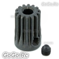 14T X2 Φ3.17 Motor Pinion Gear For T-rex Trex 450 Helicopter (RH055X2)