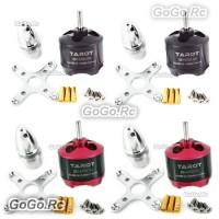 4 Pcs Tarot 2814 700KV Multi-rotor Brushless Motor For QuadCopter - RH68B1718x2