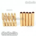 2mm Gold Bullet Connector for Battery Motor Esc x 5 Pairs For Rc (Y301-401)