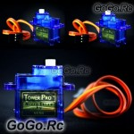3x 9g Tower Pro Servo For RC Helicopter Plane Boat Car SG90
