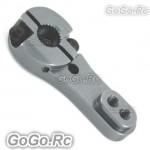 Grey 25T Half Size Metal Servo Arm For Futuba Tower-pro Servo MG995 996 CR004GY