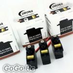 3x Corona Digital Servo Metal Gear for RC Trex T-Rex 250 450 - DS-919MGx3