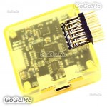 CC3D Open Source Openpilot Flight Controller Processor w/ Yellow Case Side Pin