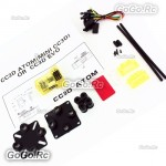 Openpilot MINI CC3D Atom NANO CC3D Straight Pin Flight Controller for FPV QAV250 with Anti-vibration Plate