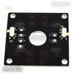 QAV250 CC3D Flight Controller Mini Power Distribution Board LED Control