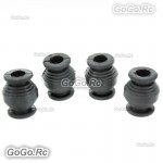 4 x Black Vibration Dampening Rubber Balls DJI Phantom Anti Jello Gimbal MC002BK