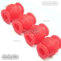 4 x Red Vibration Dampening Silicone Rubber Balls DJI Phantom Anti Jello Gimbal MC001RD