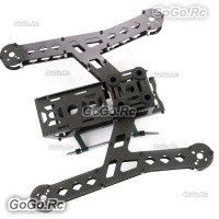 GARTT PLUTO-X2.5 250 Carbon Fiber RC Quadcopter Interstellar Frame Kit - GT400006