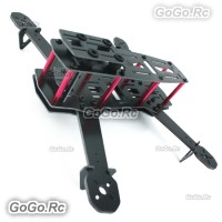 Fiberglass 250mm Mini FPV Quadcopter Frame Kit / 4 Axis Mulitcopter Black MH250GBK