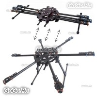Tarot FY680 Foldable Hexacopter Carbon Fiber 680mm FPV Frame RH68B01 Multirotor
