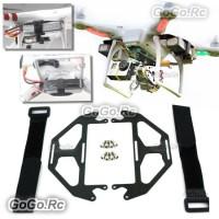 DJI Phantom Quadcopter Extended Dual Battery Carbon Fiber Mount (MC004B)