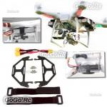 DJI Phantom Quadcopter Extended Dual Battery Carbon Fiber Mount & Cable (MC004C)