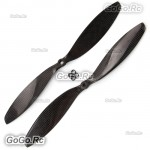 "2 Pcs 11x4.7"" 1147 Carbon Fiber CW CCW Propeller Props for Quad Multi-Copter"