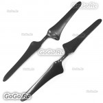 "1 Pairs 1655 16x5.5"" Carbon Fiber CW CCW Propellers For MultiCopter Drone"