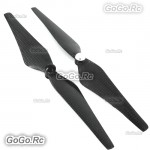 2 Pcs Carbon Fiber Self Lock 9450 CW/CCW Propeller Prop For DJI Phantom Vision 2