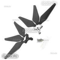 3-Blade 9443 Carbon Fiber Self Lock Folding Propeller For DJI Phantom 1 2 Vision Prop  (MP9443CF3)