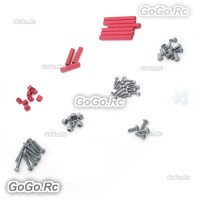 Frame Hardware Screws Post Parts for EMAX 250mm Mini Quadcopter Red - EQ25002RD