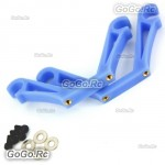 Blue Landing Skid Mount FPV Gimbal Suspender Mounting Hook 8mm For X600 X650
