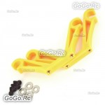 Yellow Landing Skid Mount FPV Gimbal Suspender Mounting Hook 8mm For X600 X650