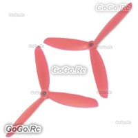 Tarot 5 inch 3-Blade Propeller Blade CW/CCW Red for 200 250 Mini Quadcopter