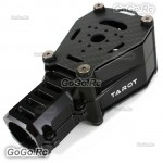 TAROT 25MM Floating Type Metal Carbon Shock Absorption Double Motor Black - TL96032BK