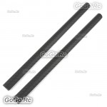 2 Pcs Tarot 16mm 3K Carbon Fiber Tube Pipe Twill Weave 16x14x275mm - TL68P04x2