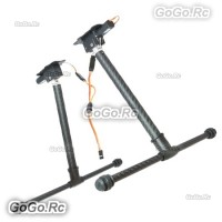 2x Tarot Multicopter Electric Retractable Landing Skid For 650 680 690 - TL65B44x2