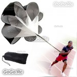 "50""inch Speed Training Resistance Parachute Chute Power Running Aid"