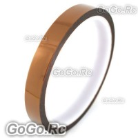 15mm 1.5cm x 30M Kapton Tape High Temperature Heat Resistant Polyimide (F019-15)