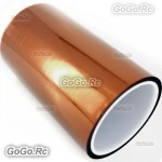 150mm 15cm x 30M Kapton Tape High Temperature Heat Resistant Polyimide -F019-150